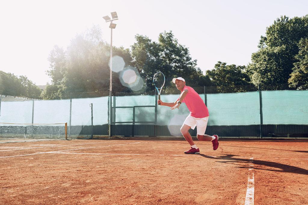 ampollas jugar tenis