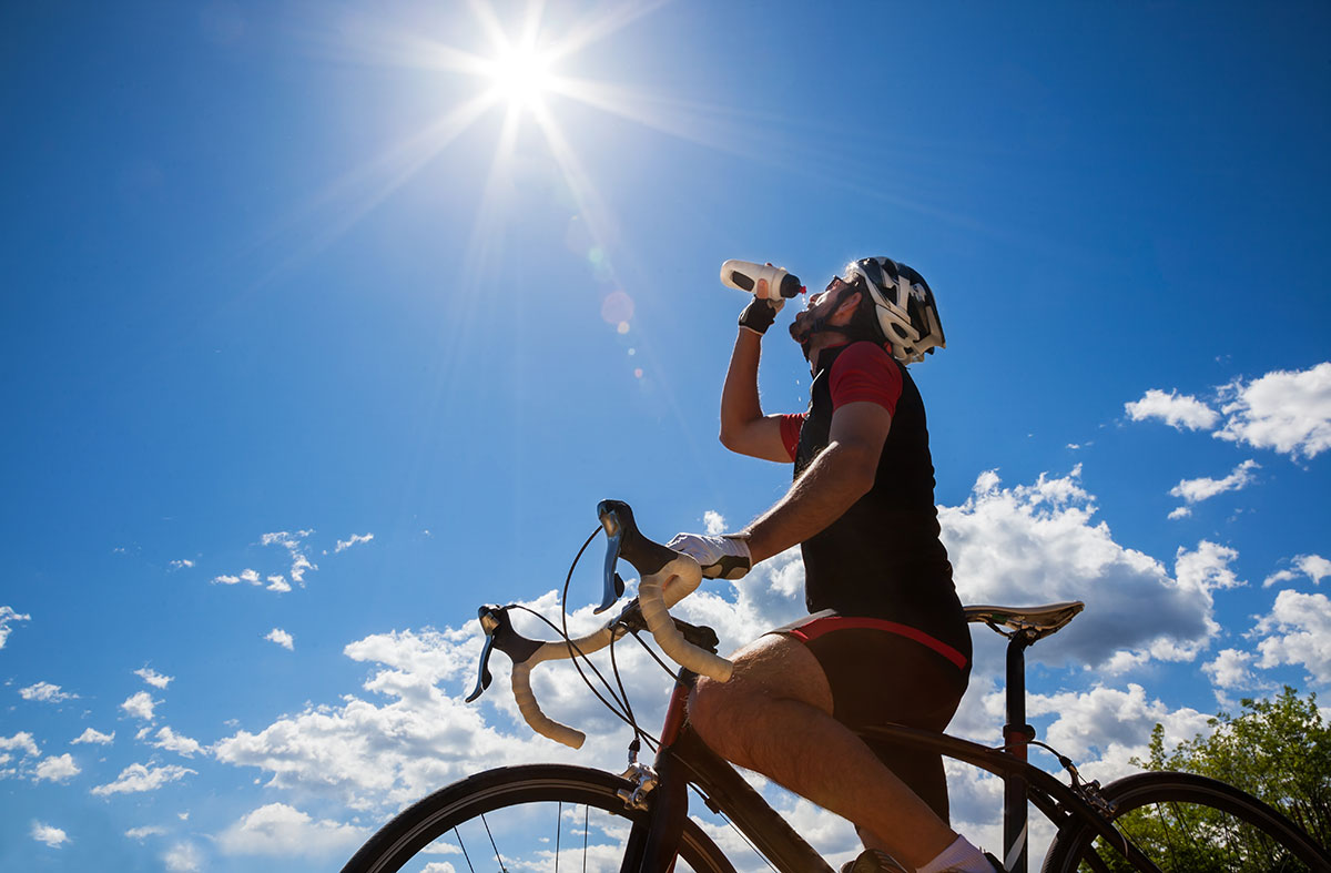 calentamiento ciclismo