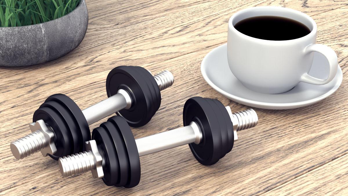 café antes de deporte