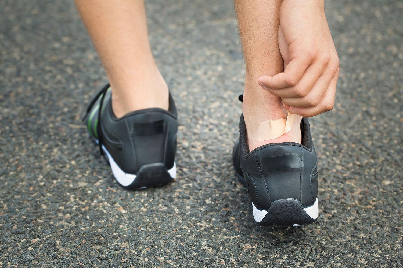 irritaciones zapatillas