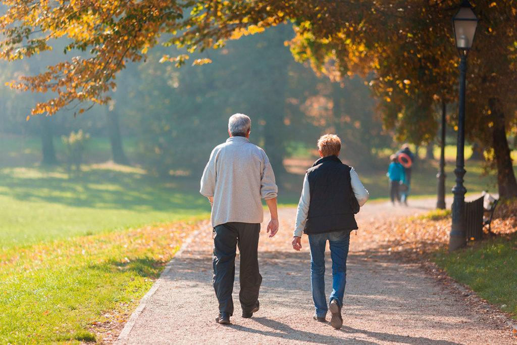 caminar en pareja