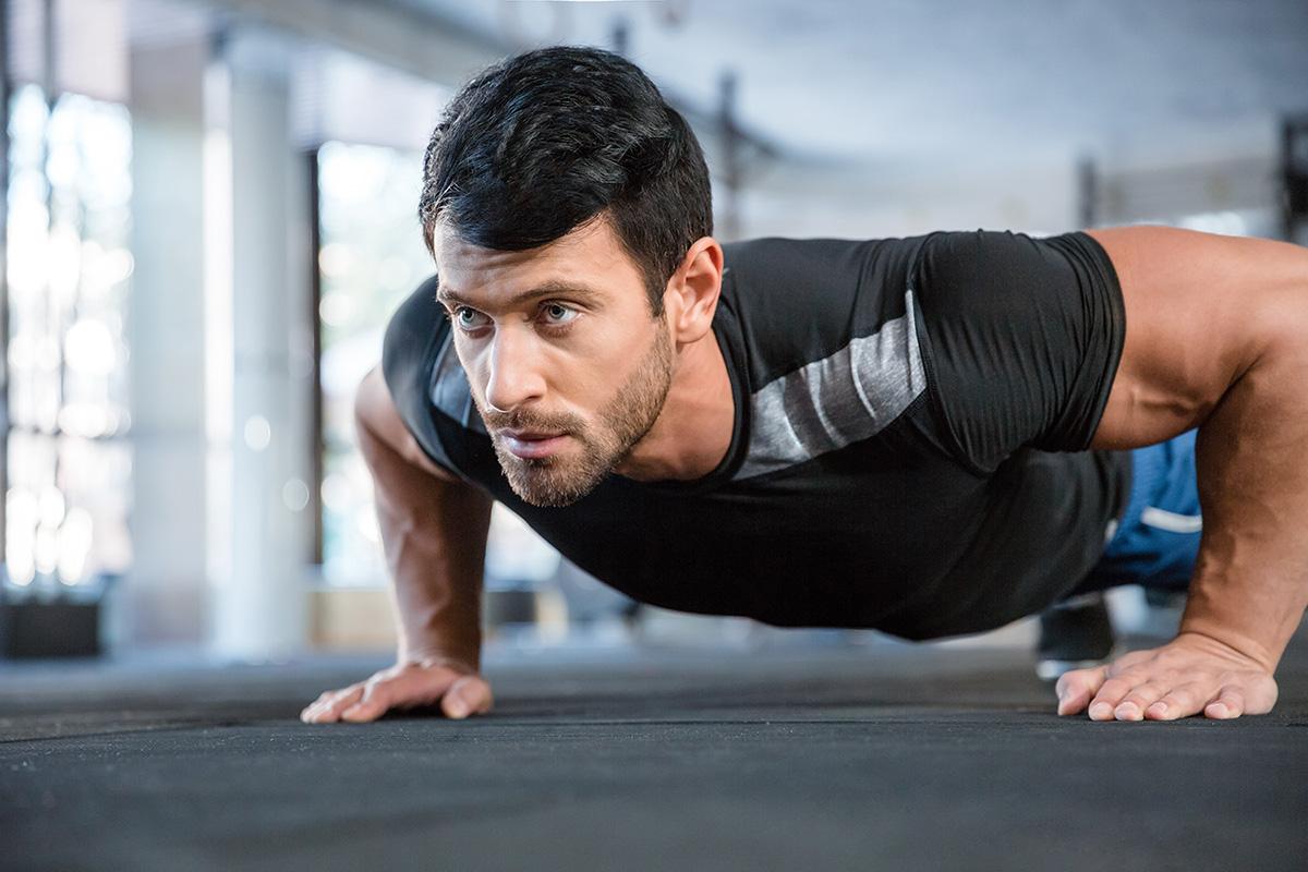 flexiones tríceps